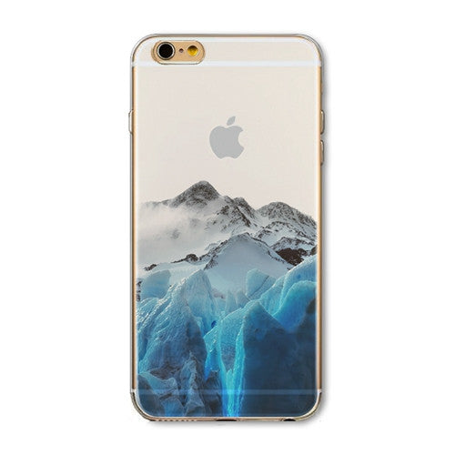 iPhone 5 Icy Mountains Case
