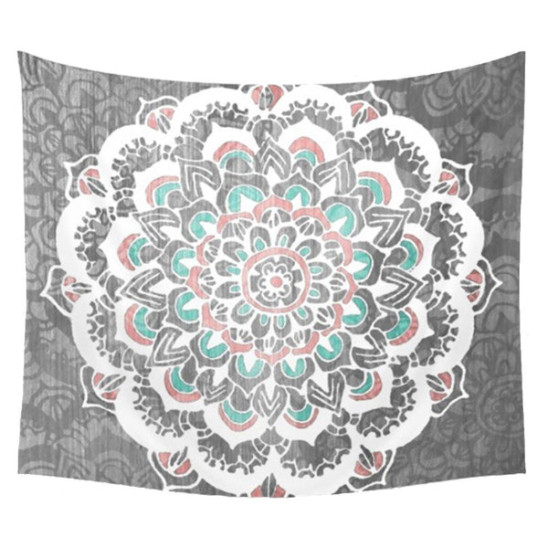 Tapestry | Chalky Reminiscent Mandala