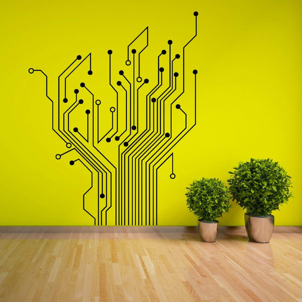 Removable Wall Sticker | Circuit Tree