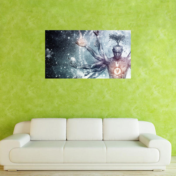 Wall Sticker (Removable) | Psychedelic Soul