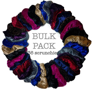 Velvet Scrunchies - New BULK PACKS!