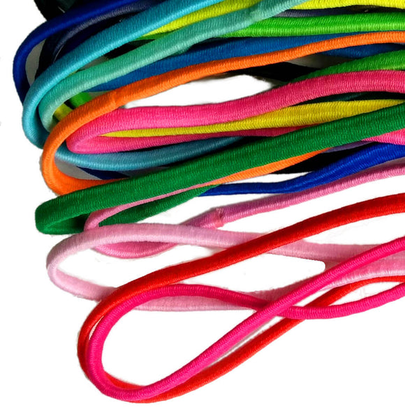 elastics for packaging and stationery