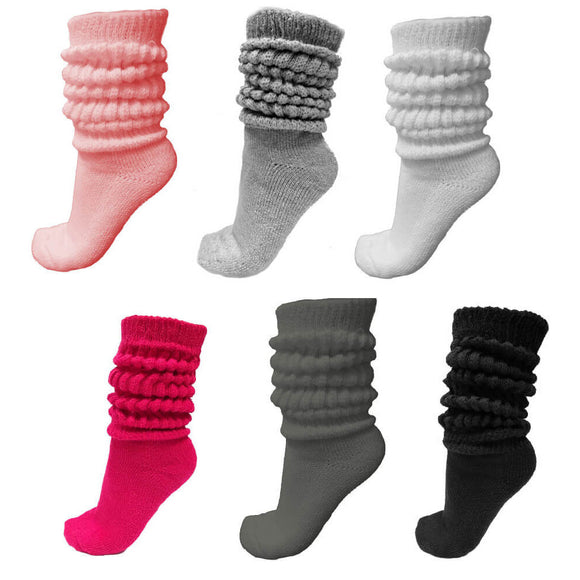 slouch socks in many colors