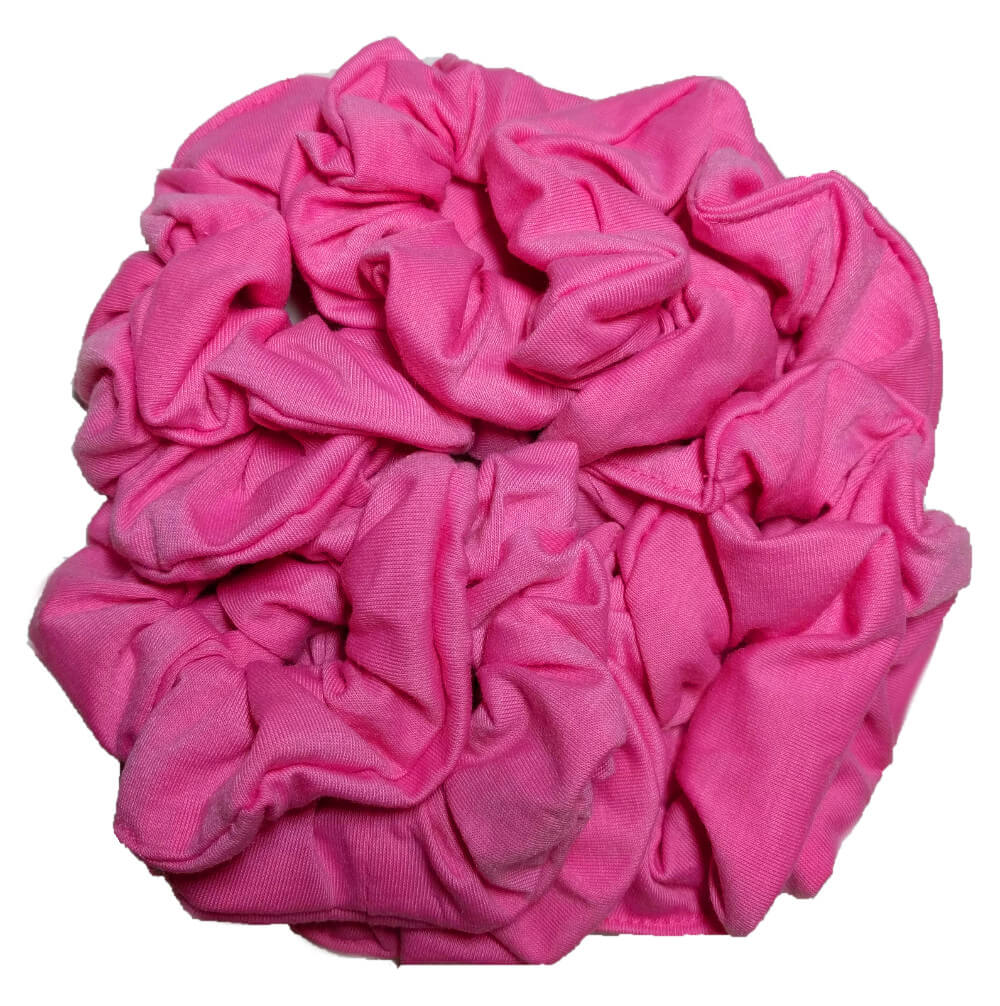 NEW color in Cotton Scrunchies - Bubblegum Pink!