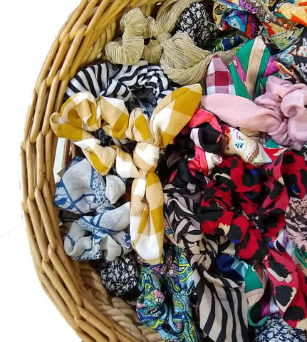 boutique scrunchies