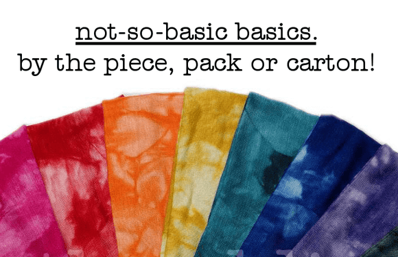 basics by the piece, pack or carton