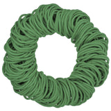 4mm ponytail elastics, army green hair elastics