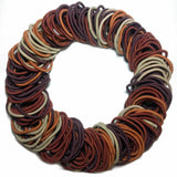 wholesale hair elastics brown bulk pack