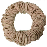 5mm ponytail elastics beige