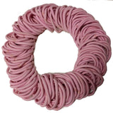 5mm ponytail elastics light pink