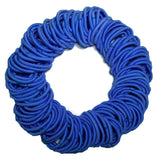 5mm ponytail elastics royal blue