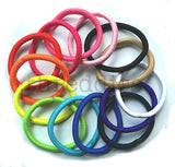 Threddies 5mm ponytail elastics in bulk many colors