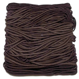 Skinny elastic headbands, brown