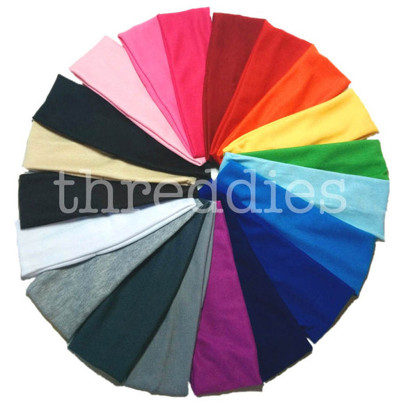 Cotton Knit Headbands in bulk