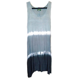 grey ombre tank dress
