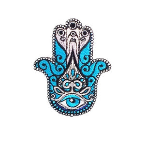 hamsa patch with evil eye