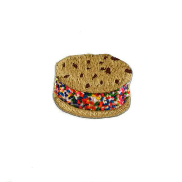 ice cream sandwich patch with sprinkles