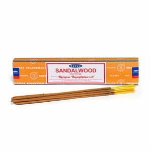 satya incense sticks, sandalwood