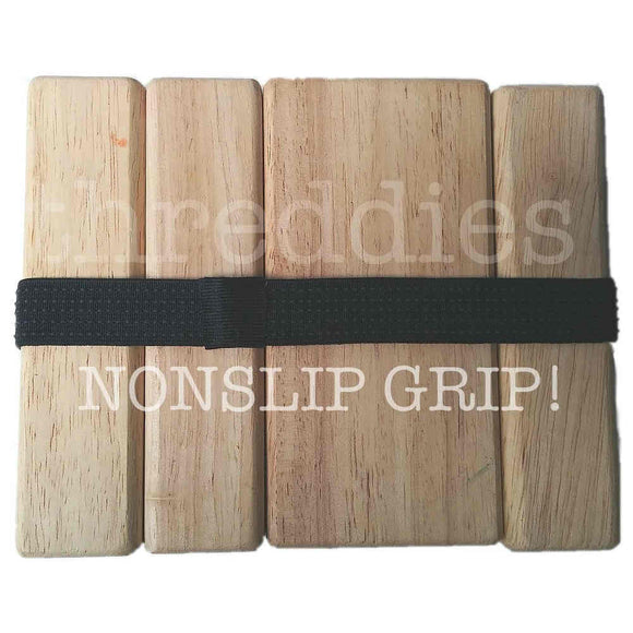 Threddies non-slip grip elastic headbands