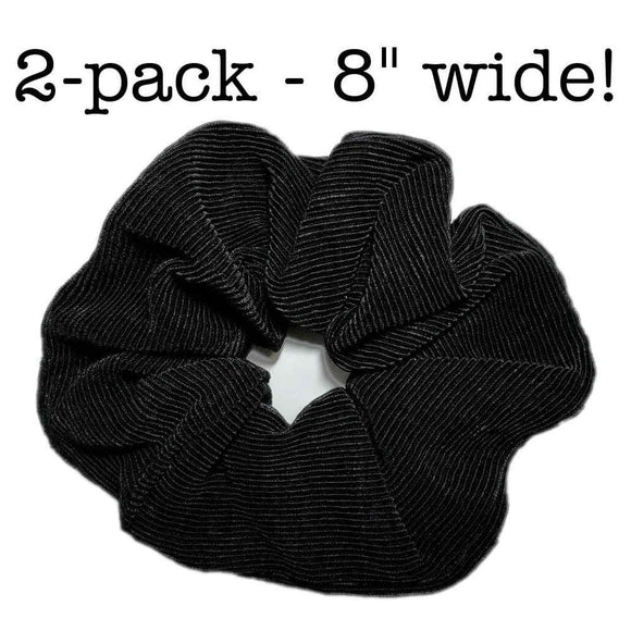 Oversized, Extra-large Satin Scrunchie Set of 2