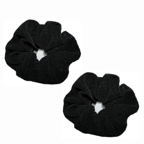 oversized huge satin scrunchies, bulk pack of 12