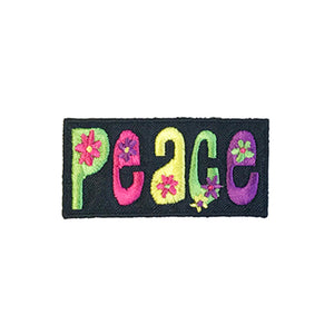 Flower Power Peace Patch