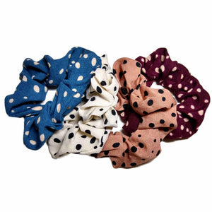 Polka Dot Scrunchies Pack
