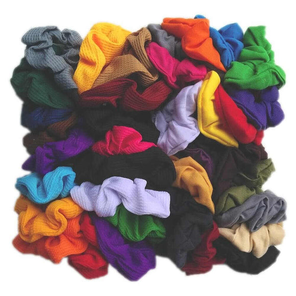 Scrunchie Party Pack // SET of 50 assorted scrunchies