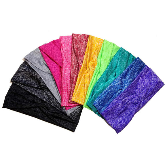 heathered turban headband, assorted