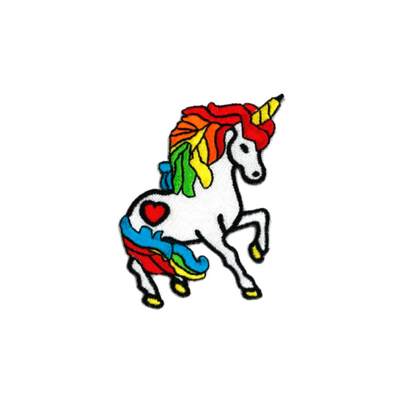 rainbow unicorn patch