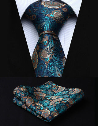 Marty Rollins Necktie With Handkerchief
