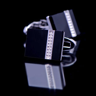 Luiz Direk Black Luxury Cufflinks
