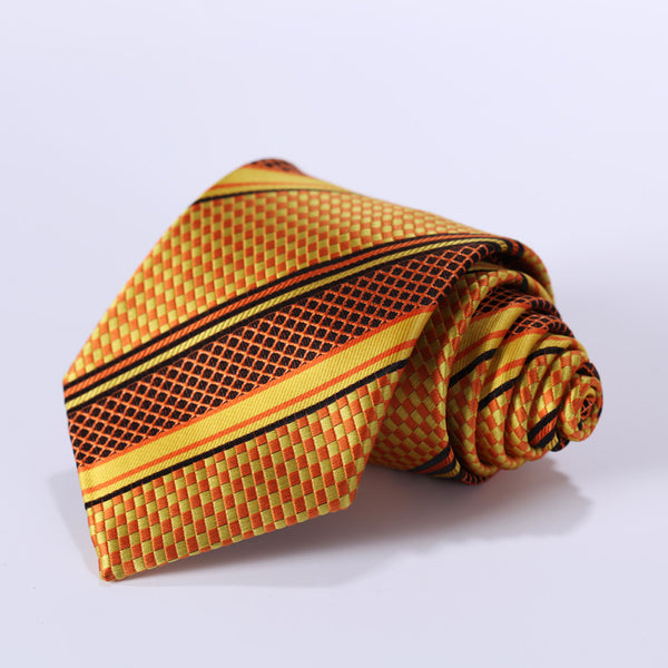 Edwin Flanagan Necktie With Handkerchief