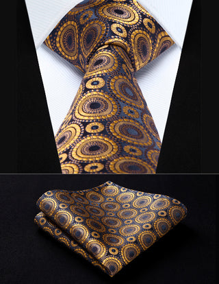 Cory Stratton Necktie With Handkerchief