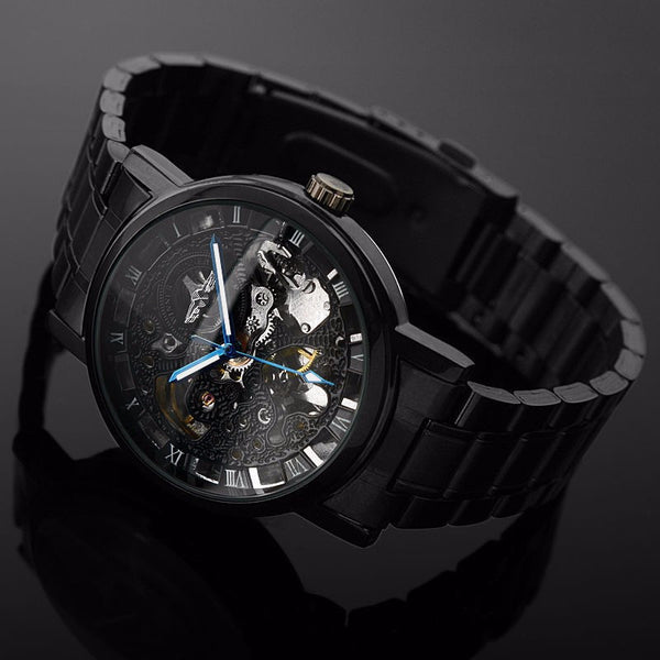 Max Leon Stainless Steel Watch
