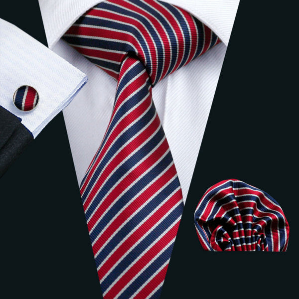 Andy Miller Necktie With Handkerchief