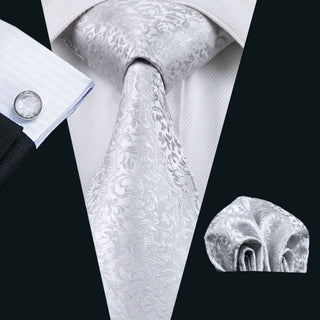 Jason Greenwood Necktie With Handkerchief