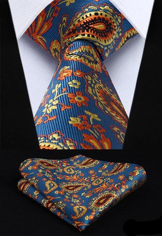 Robert Snider Necktie With Handkerchief