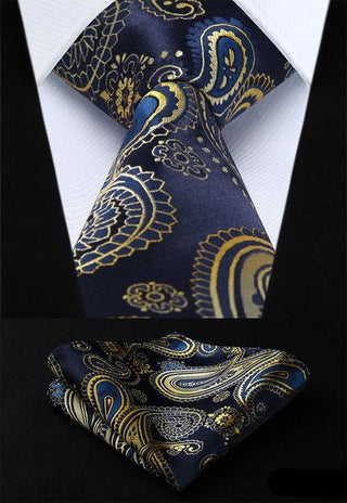 Clark Simpson Necktie With Handkerchief