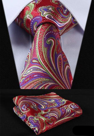 Clyde Brown Necktie With Handkerchief