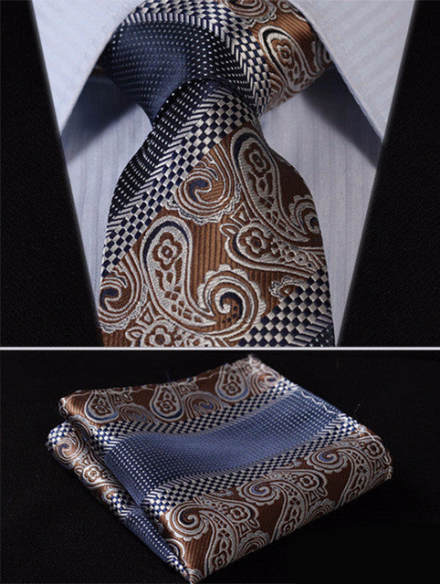 John Cooper Necktie With Handkerchief