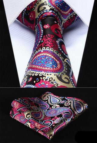 Ken Smith Necktie With Handkerchief
