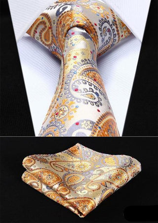 Joseph Phillips Necktie With Handkerchief
