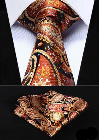 Stephen Bailey Necktie With Handkerchief