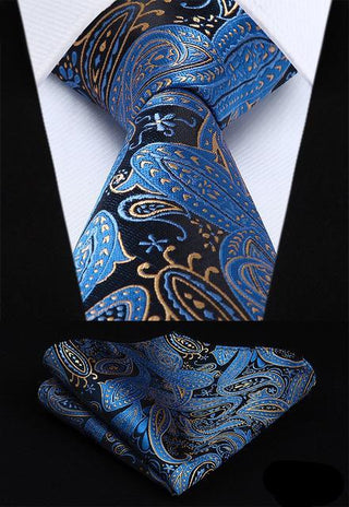 Gerry Carter Necktie With Handkerchief