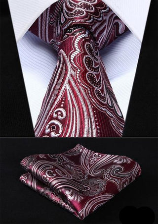 Ralph Shaffer Necktie With Handkerchief