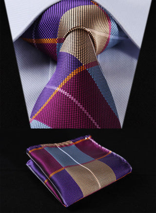 Vincent Wolfe Necktie With Handkerchief