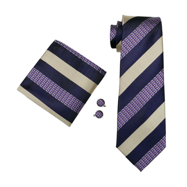 Brett Torres Necktie With Handkerchief