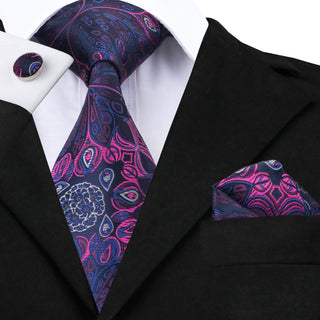 George Dixon Necktie With Handkerchief
