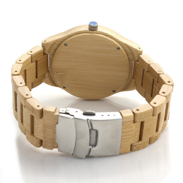 Dean Emmett Wooden Watch
